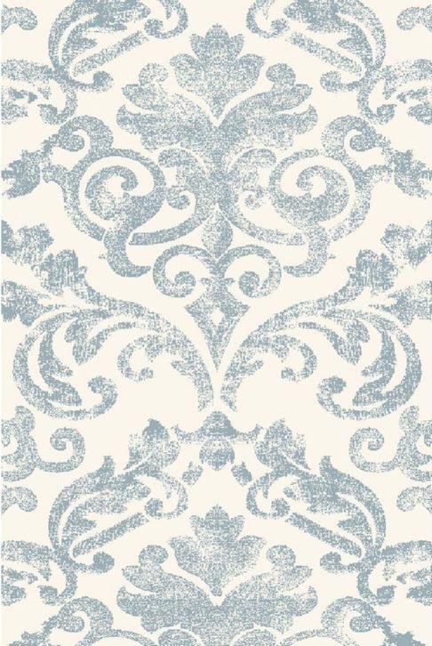 Roślinne ornamenty - dywan pastelowy