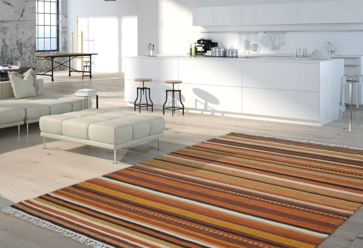 Dywan Dywilan Obsession kilim brown