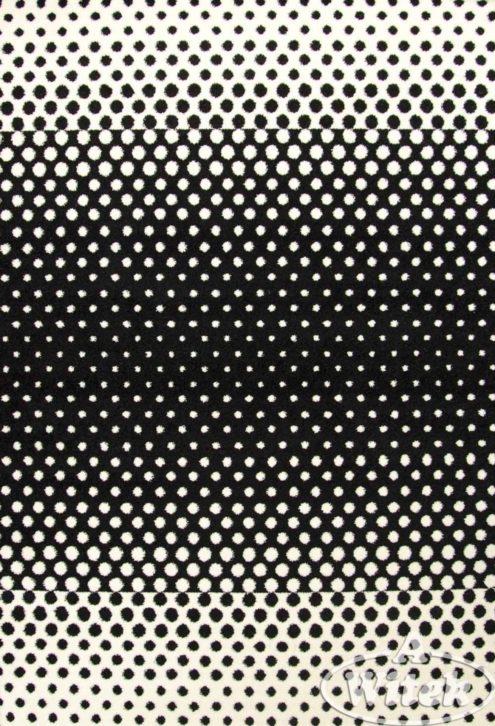 Dywan SKETCH F762 biało-czarny (styl Mono)